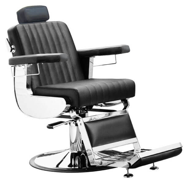 Bārddziņa-krēsls-barber chair Diplomat-Black