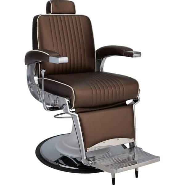 Foto Ayala Stig barber krēsls brūns 1
