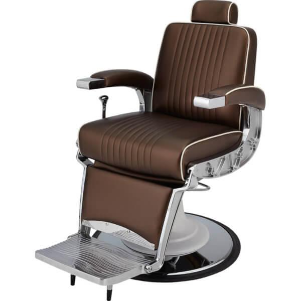 Foto Ayala Stig barber krēsls brūns 3