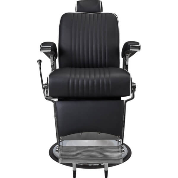 Foto Ayala Stig barber krēsls melns 2