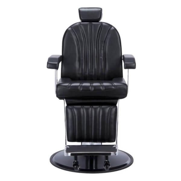 Foto Giulio barber krēsls melns 2