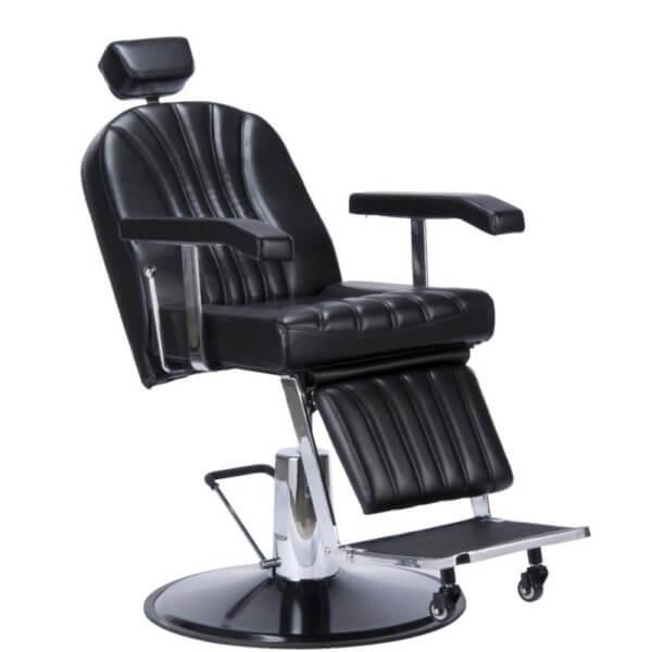 Foto Giulio barber krēsls melns 4