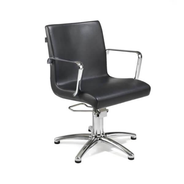 Foto REM Ariel friziera krēsls melns 1