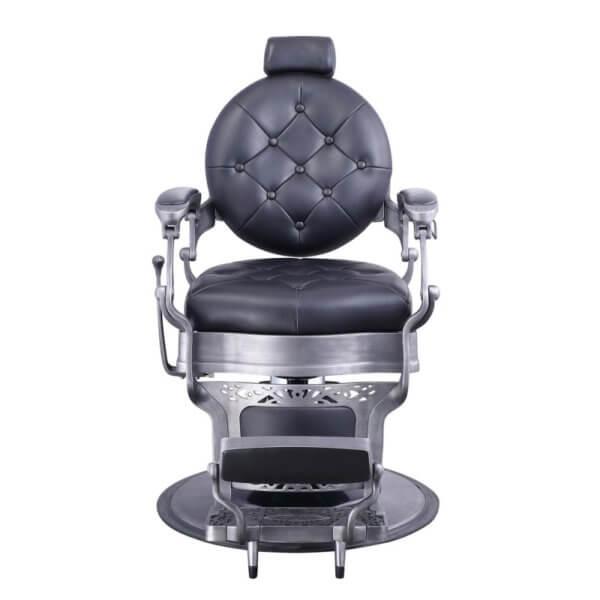 Foto Vanquish Brushed barber krēsls melns matēts 5