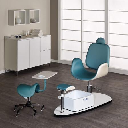 Foto pedikīra krēsls Oasis