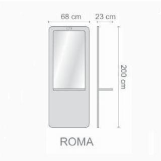 Foto frizieru spogulis Ceriotti Roma skice