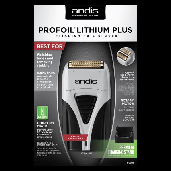 Attēls Andis Profoil Lithium Plus 17205 elektriskais skuveklis kaste