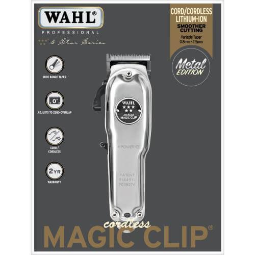 Attēls Wahl Limited Edition Cordless Magic Clip 08509-016 2